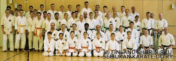 O-sensei Shimabukuro Siilinjärvellä 2000