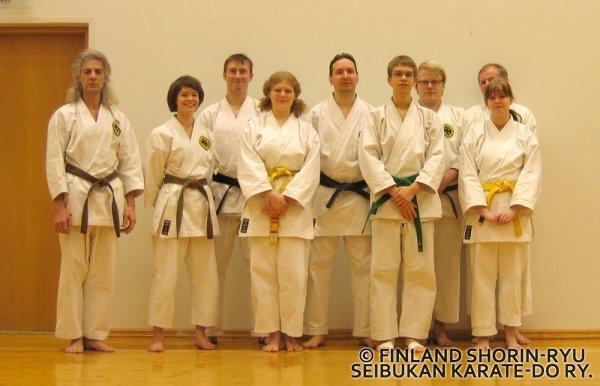 Leirin ryhmäkuva Suomussalmelta 28.-29.1.2006